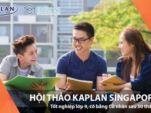 Hội thảo Du học Kaplan Singapore lớn nhất trong năm 2018