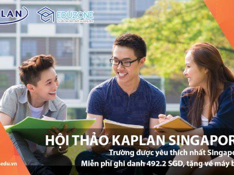 Hội thảo: Cùng Kaplan Singapore kiến tạo tương lai